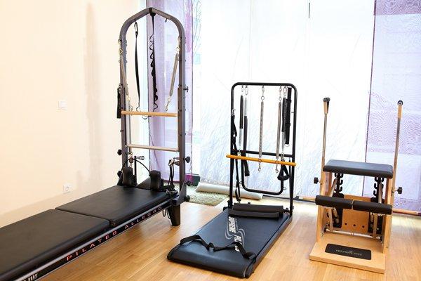 Pilates-Geräte