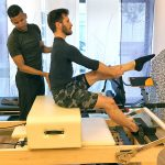 Brett Howard bei Pilates Rosen