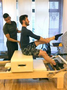 Brett Howard bei Pilates Rosen