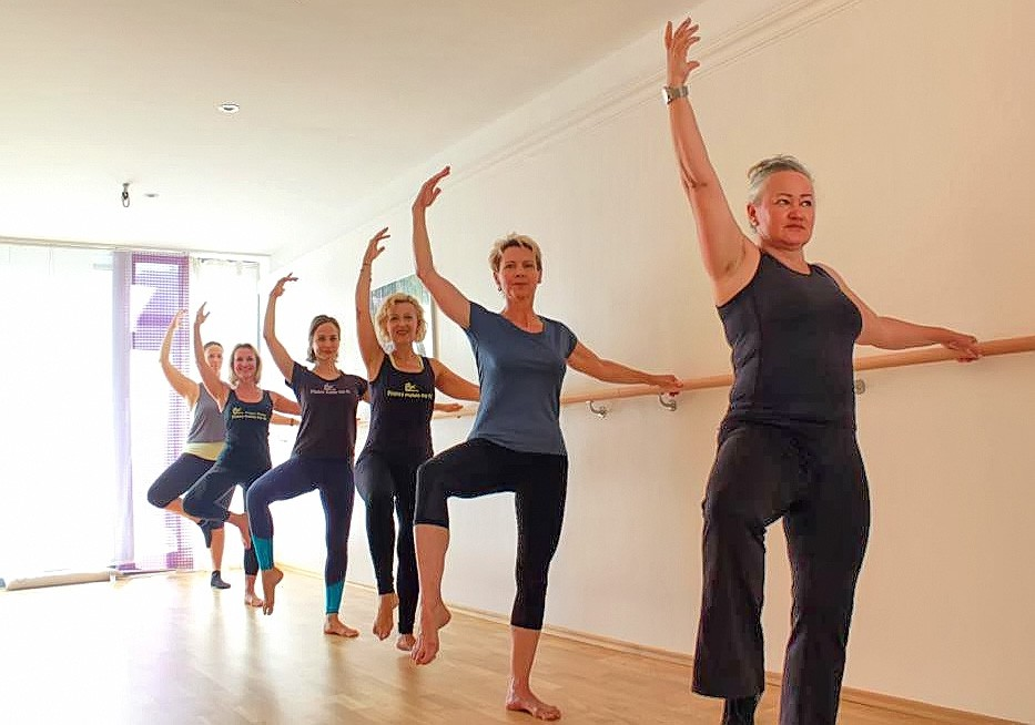 Barre Workout bei Pilates Rosen